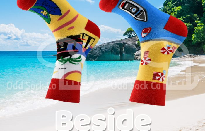 odd sock co beach design socks