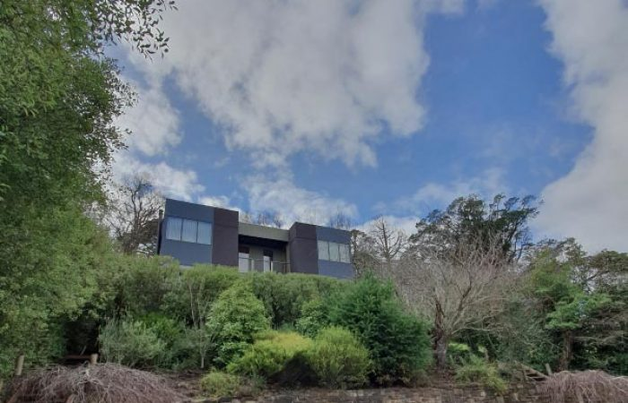 front view and gardens at daybreaker daylesford