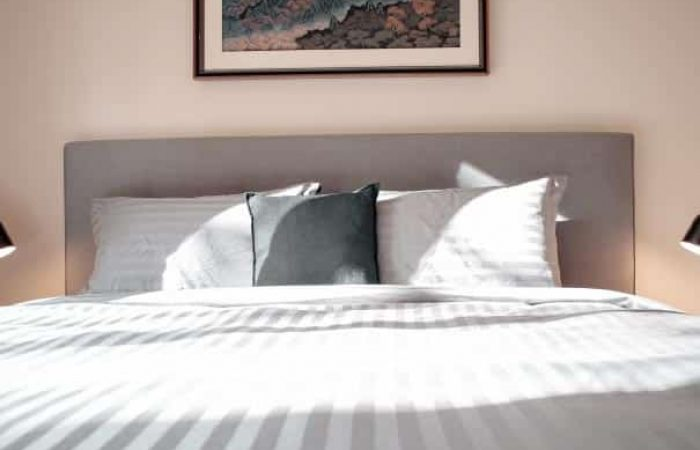 sunshining on a bed at daybreaker daylesford