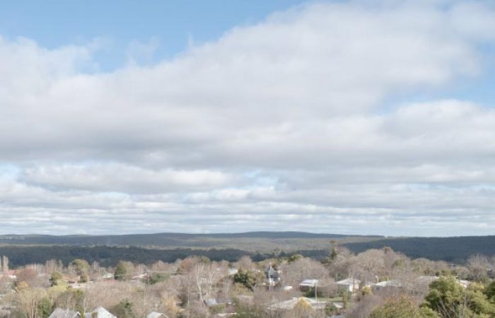 countryside view at daybreaker daylesford