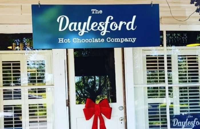 daylesford hot chocolate company shop frontage