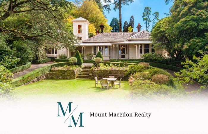 mount macedon realty property